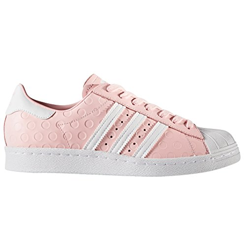 san francisco e2a4d 46292 30%OFF Adidas Superstar 80s W Chaussures femme cuir Sneakers Baskets