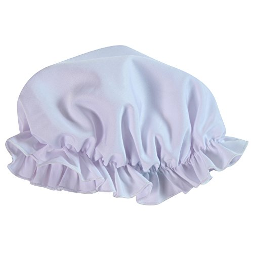 Making Believe Womens Mop Cap, White