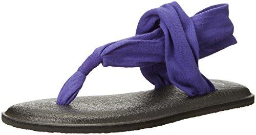 Sanuk Sandals Slip - Sanuk Women's Yoga Sling 2 Flip Flop, Liberty, 7 M US