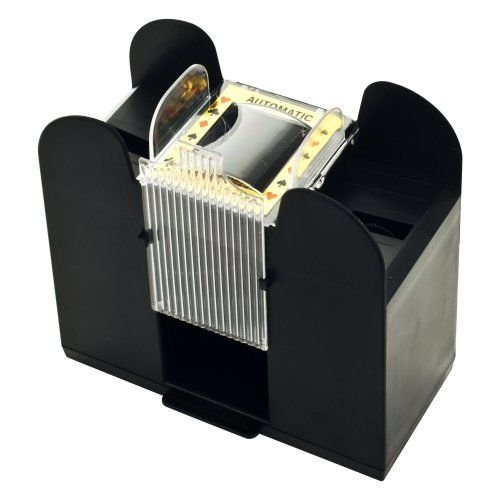 - Card Shuffler : Casino Auto Automatic 6 deck Playing Card Shuffler