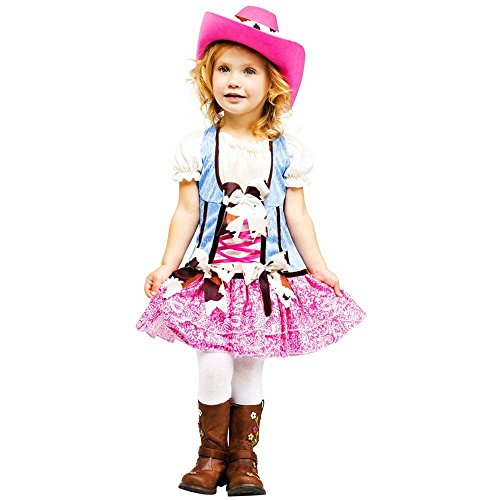 Rodeo Cowgirl Sweetie Toddler Costume - 3T-4T (Cowgirl Costume For Toddler)