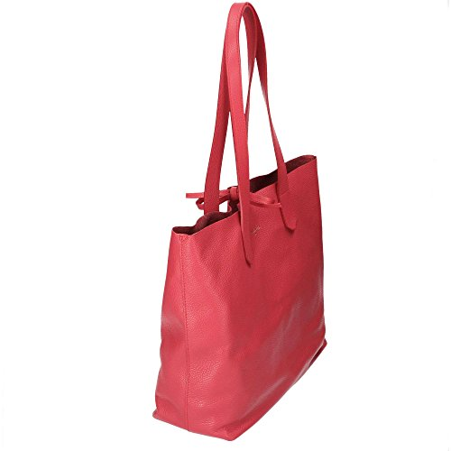PATRIZIA PEPE Borsa Shopping Matt Red PATP.2V6783/A1ZK