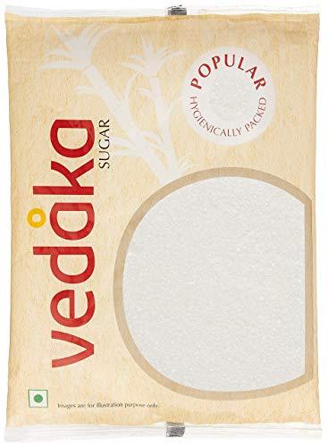 Amazon Brand – Vedaka Popular Sugar (Small Crystals), 5kg
