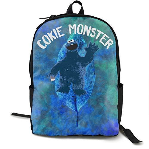 Kaddias Cookie Monster Backpack Black One ()