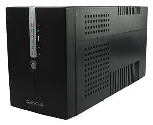 König CMP-UPS2000VAL sistema de alimentación ininterrumpida (UPS) - Fuente de alimentación continua (UPS) (50/60, Negro, 0 - 40 °C, 0 - 90%)