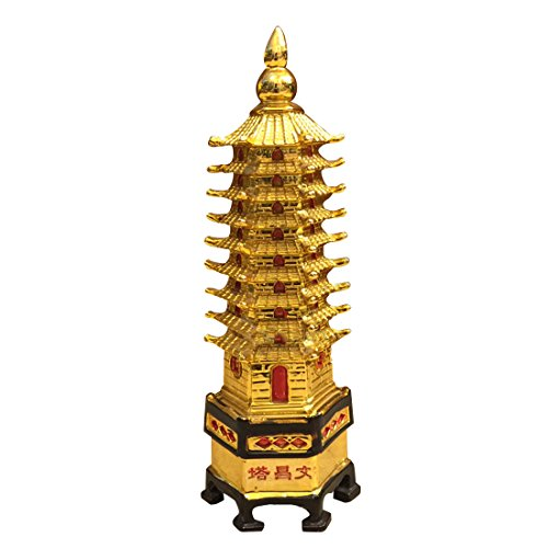 Divya Mantra Feng Shui Tower for Education Others Yellow