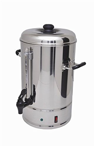 Sybo 10 Liters 60 Cups Stainless Steel Commercial Coffee Maker and Hot Water Heater Urn Pot, Perfect for Catering and Restaurants by Sybo International