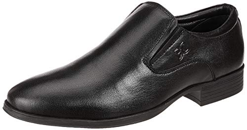 Extacy By Red Chief EXT120 Men's Black Formal Leather Shoes
