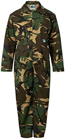"""Castle Clothing Children's Coveralls - Camouflage (Chest Size 20"""")"""