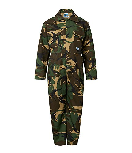 "Castle Clothing Children's Coveralls - Camouflage (Chest Size 20"")"