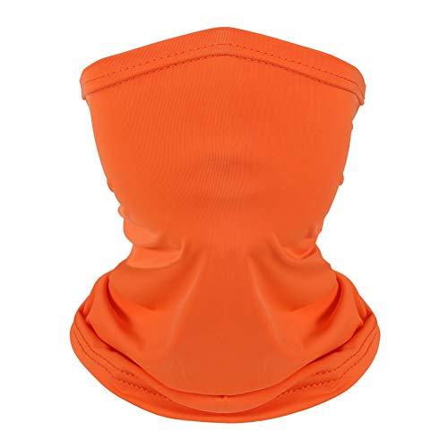 Kids Neck Gaiter Bandana Face Mouth Cover Scarf Anti Dust Balaclava 4 Pack