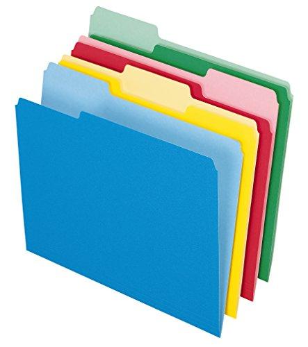 file folders colored - 4