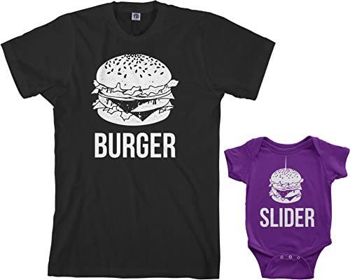 My Daddy Loves Me More Than Burgers Baby Romper