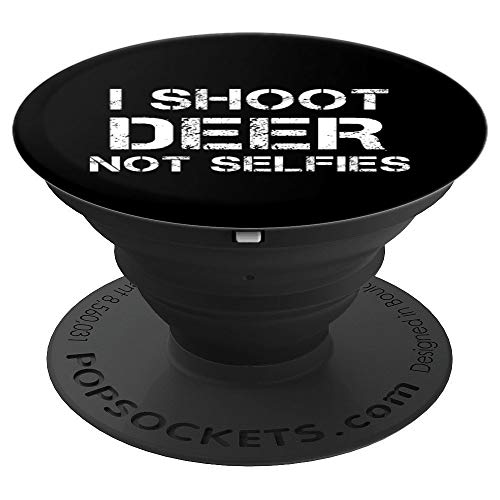 (Deer Hunting Gear Gadget Funny Trapper Hunter Gift Idea - PopSockets Grip and Stand for Phones and Tablets)