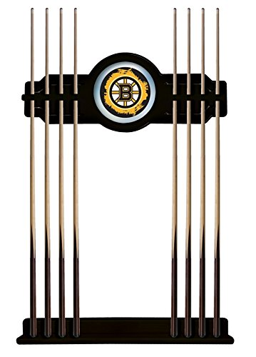 Boston Bruins Cue Rack in Black Finish by Holland Bar Stool Co.