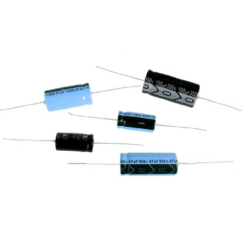 Axial Lead Electrolytic Capacitor (For Audio, Guitar Amplification, Antique Radios, Etc.) 22uF - 450V