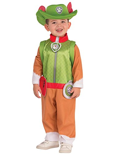 Rubie's Boy 510300 Paw Patrol Tracker Puppy Costume, Medium, Multicolor -