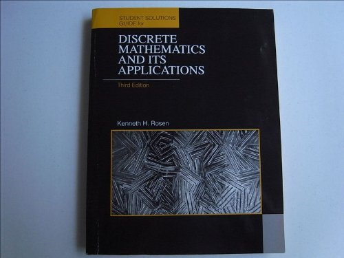 Discrete Mathematics and Its Applications: Student's Solutions Manual
