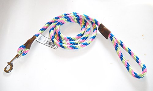 Warner Braided Nylon Rope Snap Lead Dog Leash 1/2
