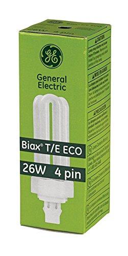 General Electric Fluorescent Tubes - GE Biax 26-Watt T/E ECO Triple Tube 4-Pin Light Bulb
