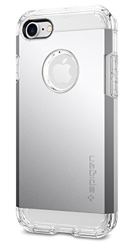 Spigen Tough Armor iPhone 7 Case with Extreme Heavy Duty Protection and Air Cushion Technology for iPhone 7 2016 - Satin Silver
