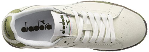 EU Uomo Sneaker 42 Game Waxed Low Diadora 5 Camou Bianco OxzHw