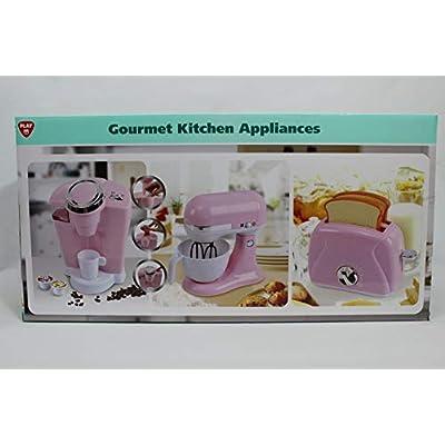 PlayGo 3-Pc. Gourmet Kitchen Appliance Set: Toys & Games