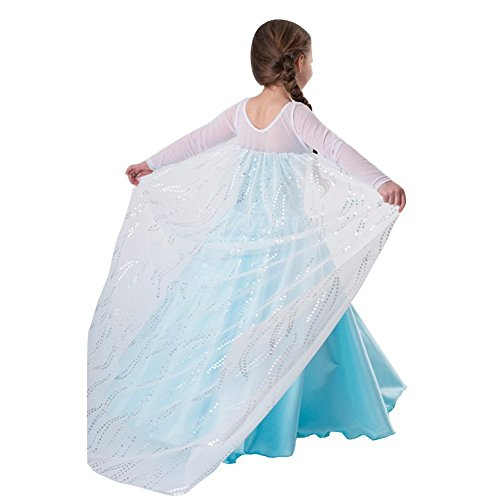 Kuwait Costume For Kids (ompson Inspired Snow Queen Girl Costume Dress (3-4 Years) as picture3-4 years)