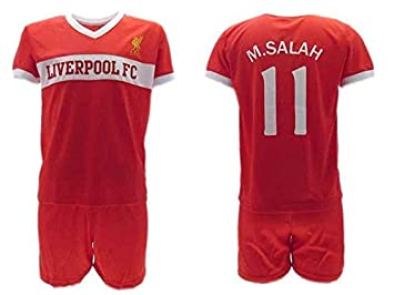 new arrival 372a4 9f702 HOME KIT Complete Soccer Football Mohamed MOMO SALAH 10 ...