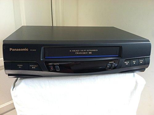 Electronics : Panasonic PV-9450 VCR Video Cassette Recorder, 4-Head Hi-Fi Stereo Omnivision VHS Player.