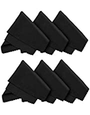 Angoter 6PCS paños de Microfibra para Las Gafas de Lentes Pantallas LCD portátil Tablets Móviles Superficies delicadas paño Limpio el Lente de 14 * 18 cm