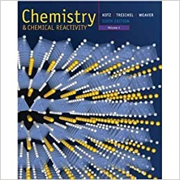 Chemistry & Chemical Reactivity Volume 1 (Enhanced Seventh Edition)