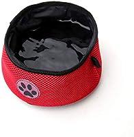 NATUCE - Cuencos de Red para Mascotas, para Perros y Gatos, para riego y Viajes, 9 Colores