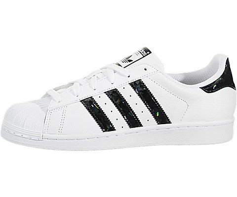 adidas Originals Kids Superstar J Running Shoe