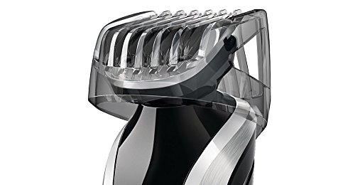 Philips Norelco WASHABLE Full Body Groomer with Exclusive ALL NEW Turbo Boost Feature & 8 Attachments Full-Size Metal Guard Trimmer, Bodygroom Foil Shaver, and Body Trimmer Comb, Precision Trimmer, with Hair Clipping Comb, Mini Foil Shaver, and Beard and  by Philips Norelco (Image #5)