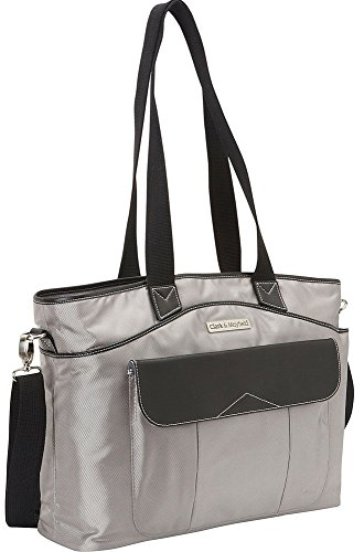 Clark & Mayfield Newport Laptop Handbag 17.3'' (Gray) by Clark & Mayfield