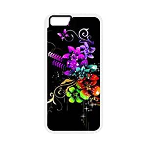 "SYYCH Phone case Of Bright Color Flower 2 Cover Case For iPhone 6 Plus (5.5"")"