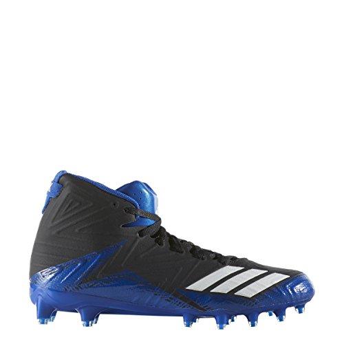 Adidas Menns Freak X Karbon Midten Fotball Sko Svart / Hvit / Kollegialt Konge