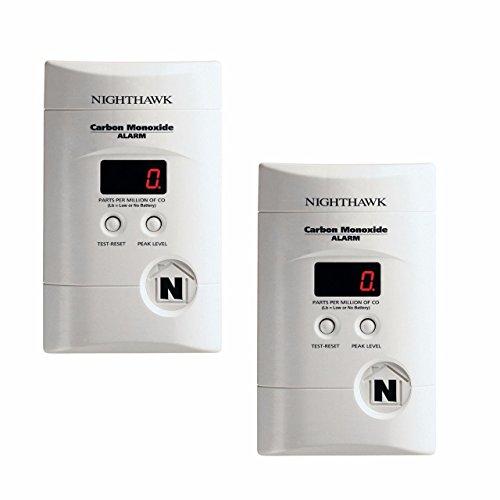 Kidde 900-0076-01 Ac Powered, Plug-In Carbon Monoxide Alarm by Kidde