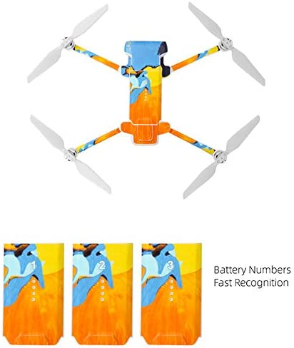 MongKok Quadcopter Sticker Printed Cartoon Camouflage Pattern Flying Toy Cover Protect for FIMI X8 SE