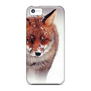 PsduVLi2766QHrrL ConnieJCole Cute Fox Durable Iphone 5c Tpu Flexible Soft Case wangjiang maoyi