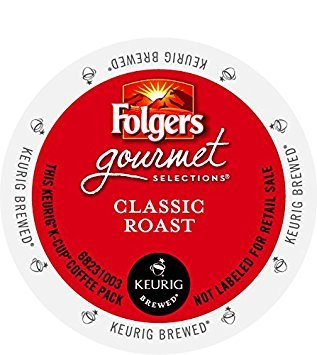 96 K Cups of Folgers Classic Blend (Classic Blend Coffee)