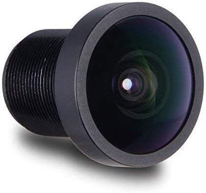 Fielect 1Pcs Automatic Security Camera Lens Board Lens Zoom Board Lens Black Without Base