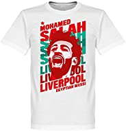 Retake Salah Liverpool Portrait Tee - White