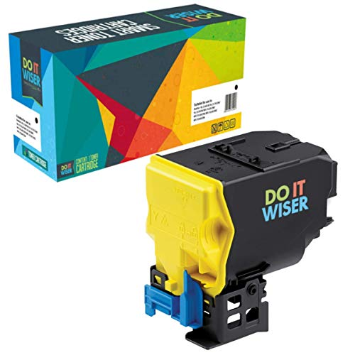 (Do it Wiser Compatible Yellow Toner for Konica Minolta Magicolor 4750 4750DN 4750EN MC4750 - A0X5251 A0X5230 - High Yield 6,000 Pages)