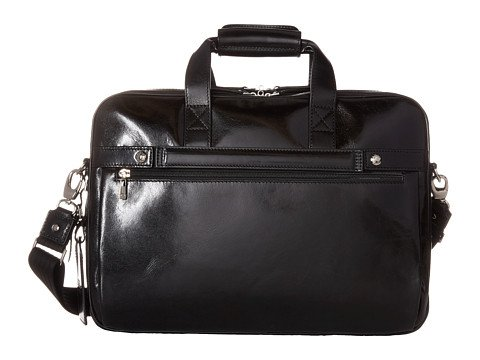 Bosca Old Leather Collection Partners Briefcase (Amber, One Size)