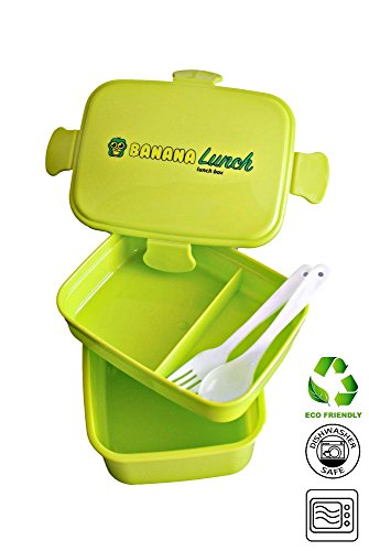 Banana Lunch Box Stackable Plastic product image