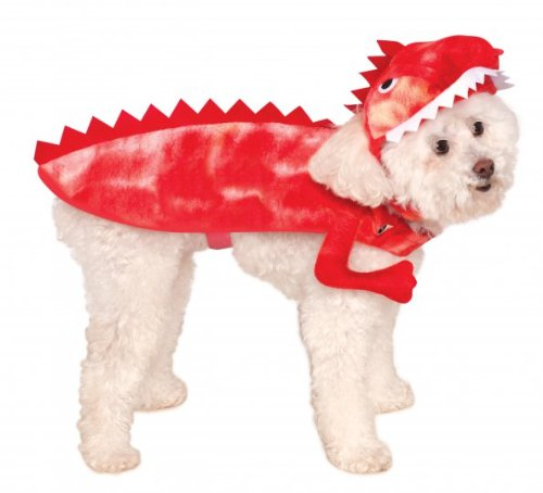 Rubies Costume Company Raptor Dinosaur Pet Costume, Large (Animal Planet Raptor Dog Costume)