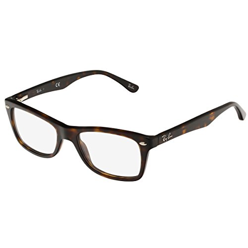 Ray-Ban Women's Rx5228 Square Eyeglasses,Dark Havana,50 - Ray For Bans Glasses Men