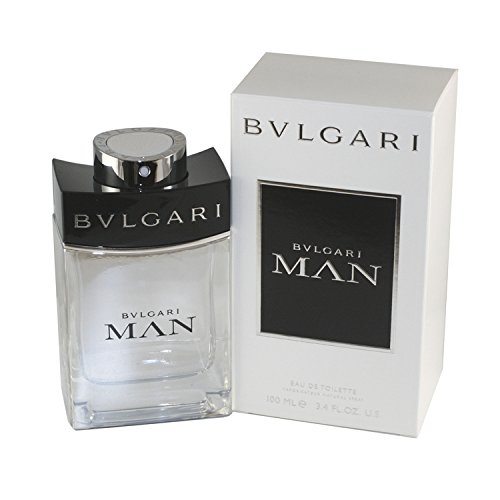 Bvlgari Man Eau de Toilette Spray for Men, 3.4 Fluid Ounce (Bvlgari Man Eau De Toilette)